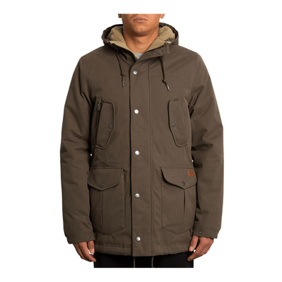 VOLCOM - STARGET 5K - Parka Homme major brown
