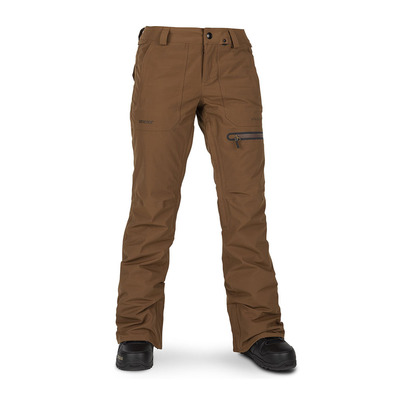 VOLCOM - KNOX INS GORE GTX - Snow Pants - Women's - copper