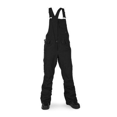 VOLCOM - SWIFT OVERALL - Salopette snow Femme black