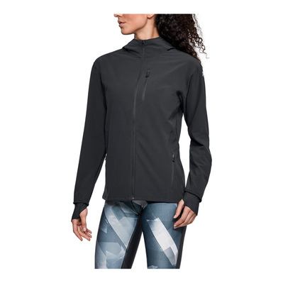 UNDER ARMOUR - OUTRUN THE STORM - Chaqueta mujer black
