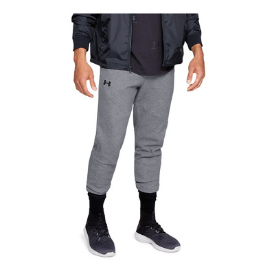 UNDER ARMOUR - UNSTOPPABLE 2X KNIT - Jogging Homme steel