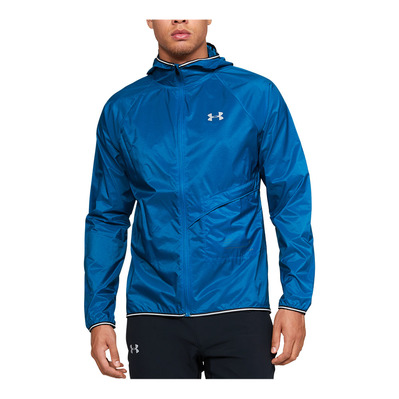 UNDER ARMOUR - QUALIFIER STORM - Chaqueta hombre teal vibe
