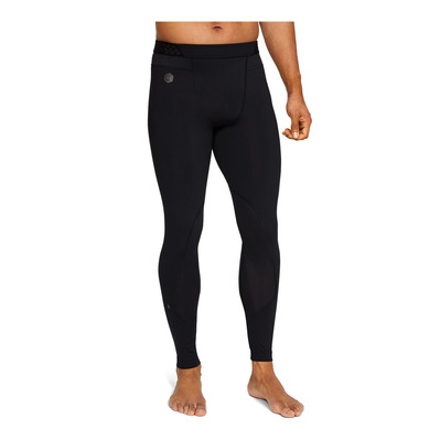 UNDER ARMOUR - RUSH HG - Legging Homme black/black