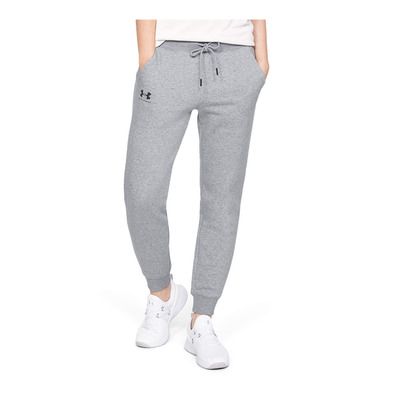 UNDER ARMOUR - RIVAL FLEECE SPORTSTYLE GRAPHIC - Jogging Femme steel medium heather
