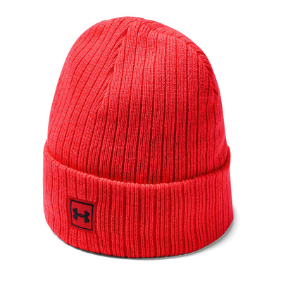 UNDER ARMOUR - Men's Truckstop Beanie 2.0-RED Homme Beta Red1318517-632