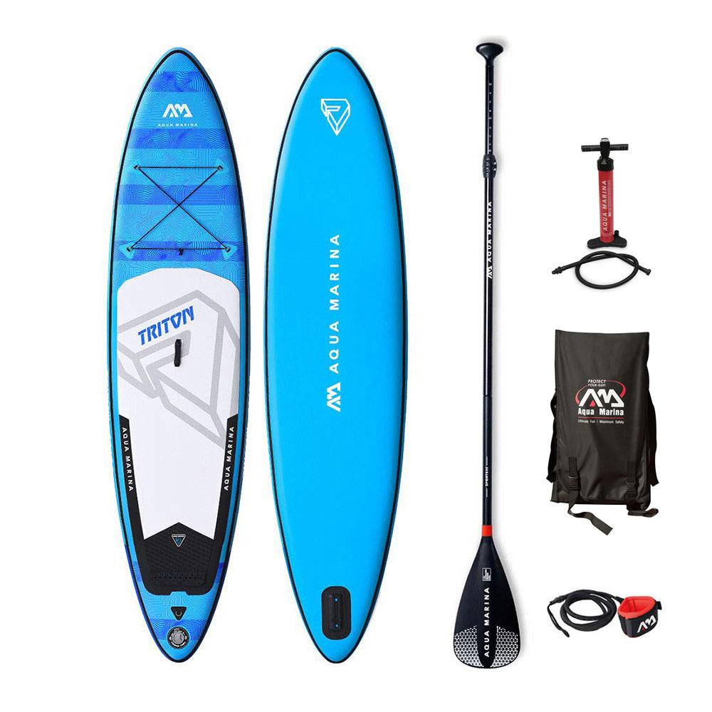 Aquamarina Aquamarina Triton 11 2 Pack Inflatable Sup Board Accessories Blue White Private Sport Shop