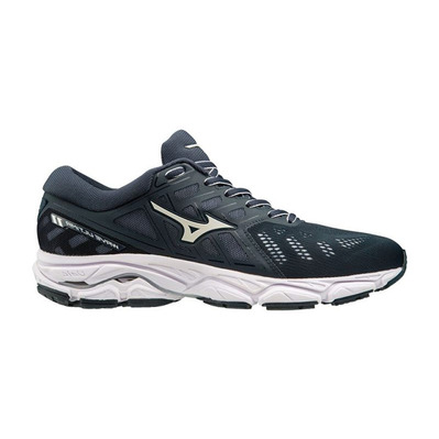 MIZUNO - WAVE ULTIMA 11 - Chaussures running Femme blueberry/wht/blueberry
