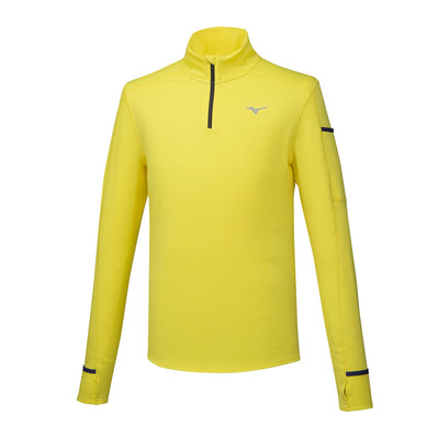MIZUNO - WARMALITE HZ - Maillot Homme blazing yellow