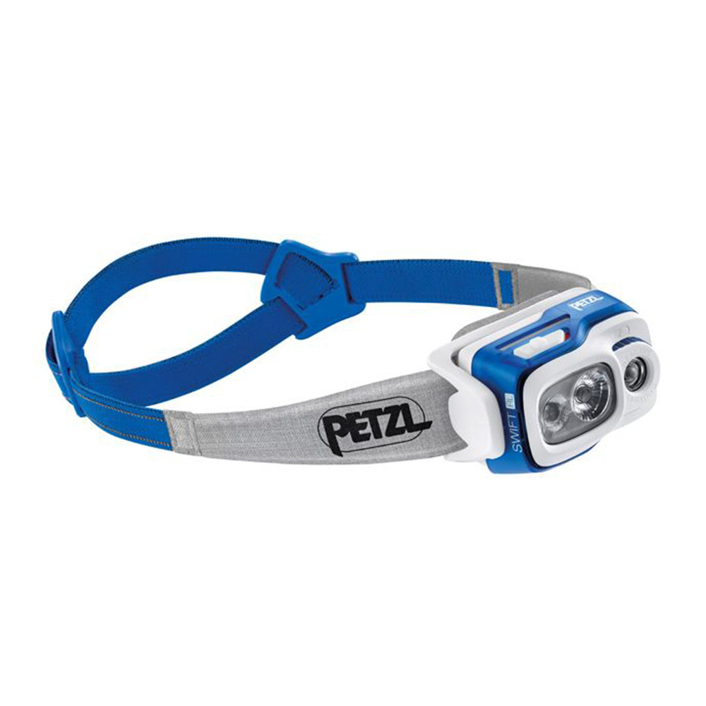 PETZL - Petzl SWIFT RL - Linterna frontal blue