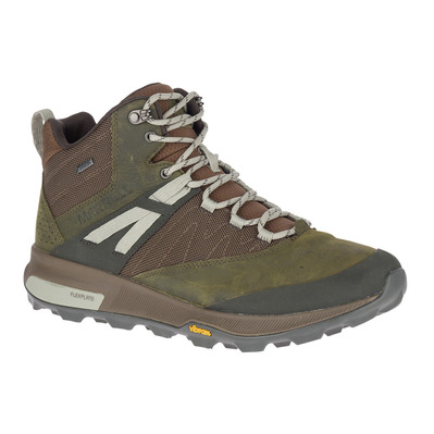 MERRELL - ZION MID GTX - Hiking Shoes - Men's - dark olive