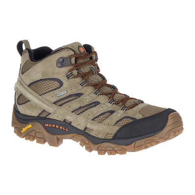 MERRELL - MOAB 2 LTR MID GTX - Chaussures randonnée Homme olive