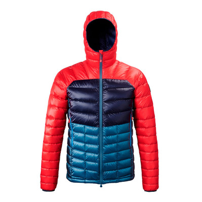 MILLET - TRILOGY DIAMOND DOWN HOODIE - Down Jacket - Men's - indian/red