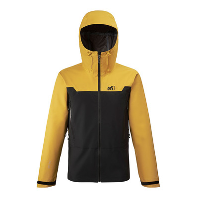 MILLET - KAMET LIGHT GTX - Jacket - Men's - black/mustard