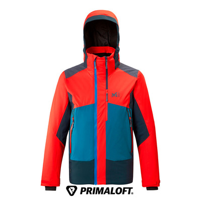 MILLET - 7/24 STRETCH - Veste ski Homme fire/orion blue