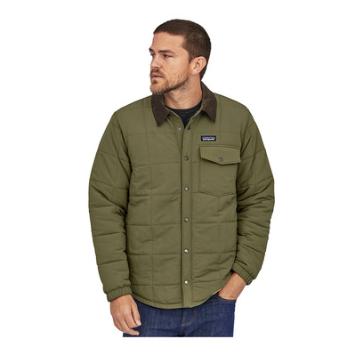 PATAGONIA - ISTHMUS QUILTED - Chaqueta hombre industrial green