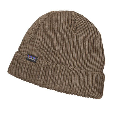 PATAGONIA - FISHERMANS ROLLED - Gorro ash tan