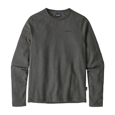 PATAGONIA - P-6 LOGO LIGHTWEIGHT CREW - Sweatshirt - Men's - forge grey