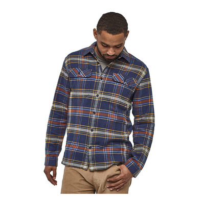 PATAGONIA - FJORD FLANNEL - Camisa hombre defender/new navy
