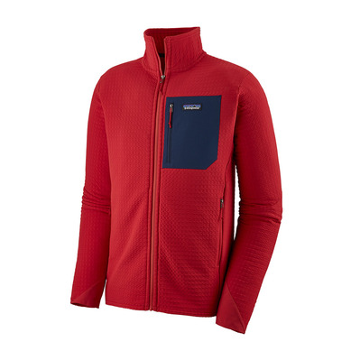 PATAGONIA - R2 TECHFACE - Jacket - Men's - fire