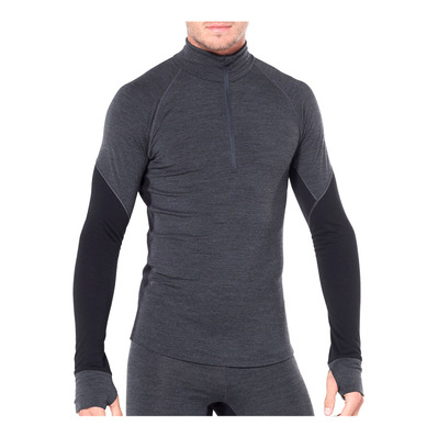 ICEBREAKER - 260 ZONE - Base Layer - Men's - jet hthr/black
