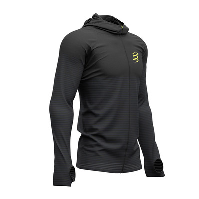 COMPRESSPORT - 3D THERMO - Sweat Homme black