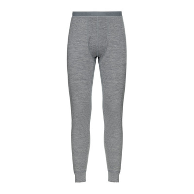ODLO - Collant NATURAL 100% MERINO WARM Homme grey melange - grey melange