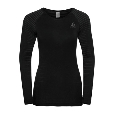 ODLO - T-shirt ML PERFORMANCE LIGHT Femme black