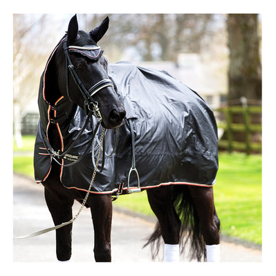 HORSEWARE - RAMBO MACK IN A SACK - Manta integral impermeable blk tan or