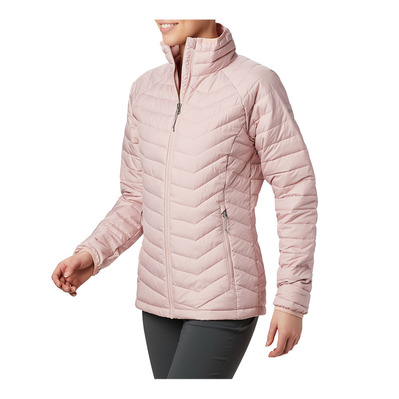 COLUMBIA - POWDER LITE - Doudoune Femme dusty pink