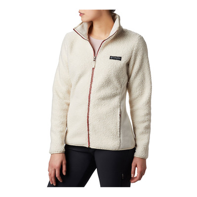 COLUMBIA - Panorama Full Zip-Chalk Femme Chalk