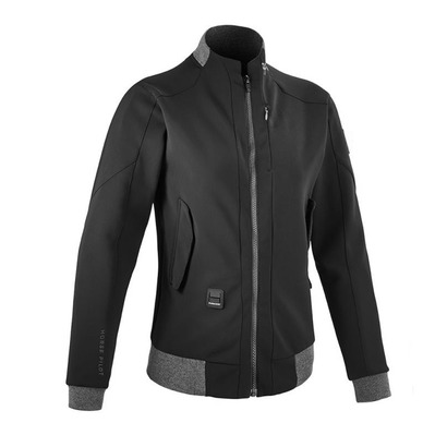 HORSE PILOT - AIRBAG - Bomber Jacket - Women's - black