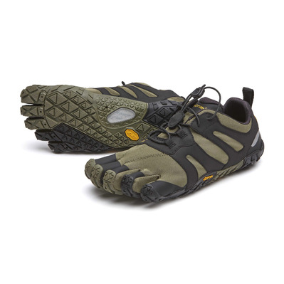 FIVE FINGERS - V-TRAIL 2.0 - Zapatillas de trail mujer lierre/black