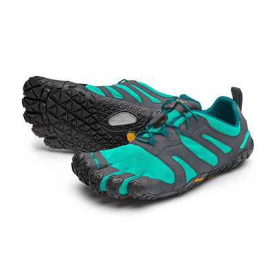 FIVE FINGERS - Vibram Five Fingers V-TRAIL 2.0 Femme Bleu/Vert
