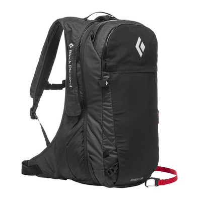 BLACK DIAMOND - JETFORCE PRO - Zaino airbag black