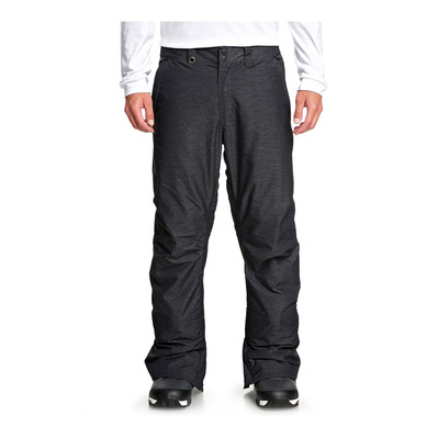 QUIKSILVER - ESTATE TEXT - Pantalon snow Homme black heather