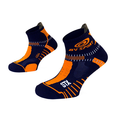 BV SPORT - STX EVO - Socks - blue/orange