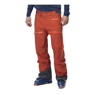 NORRONA - lofoten Gore-Tex insulated Pants (M) Rooibos tea Homme