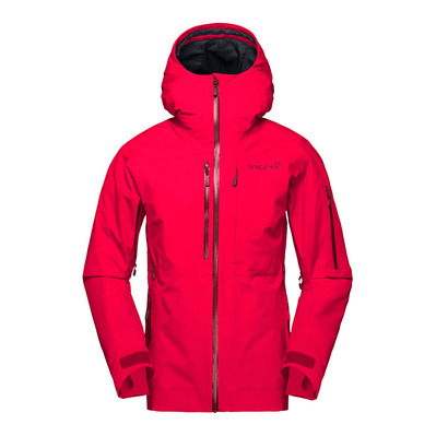 NORRONA - lofoten Gore-Tex insulated Jacket (W) Crisp Ruby Femme