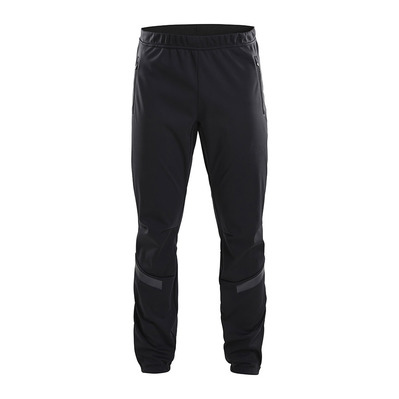 CRAFT - WARM TRAIN - Pants - Men's - black/grey/tran