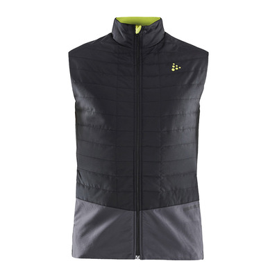 CRAFT - STORM THERMAL - Hybrid Jacket - Men's - black/asphalt