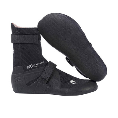 RIP CURL - FLASHBOMB 5MM - Chaussons surf black