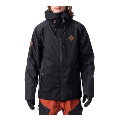 RIP CURL - SEARCH JKT Homme JET BLACK