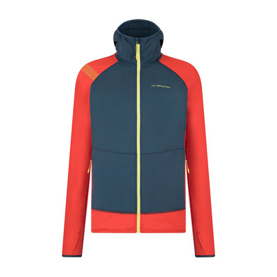 LA SPORTIVA - IRIDIUM - Sweat Homme opal/poppy