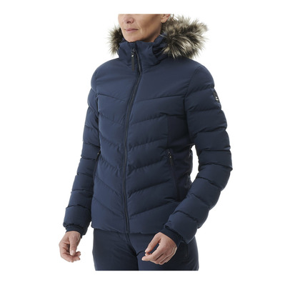 EIDER - DOWNTOWN STREET 2.0 - Veste de esquí híbrida mujer dark night