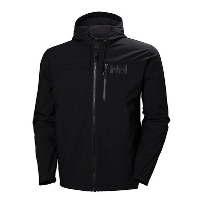 HELLY HANSEN - ACTIVE SOFTSHELL - Chaqueta hombre black