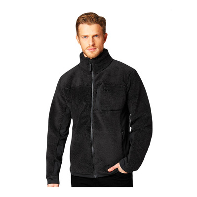 HELLY HANSEN - JUELL PILE - Fleece - Men's - ebony