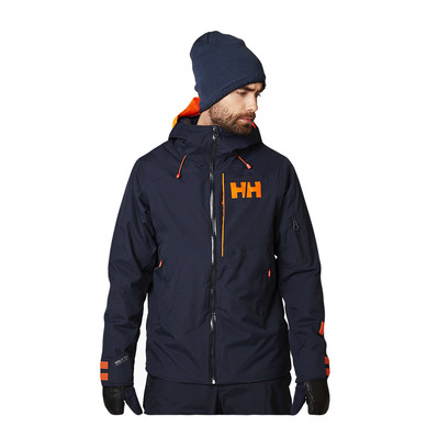 HELLY HANSEN - POWJUMPER - Ski Jacket - Men's - navy