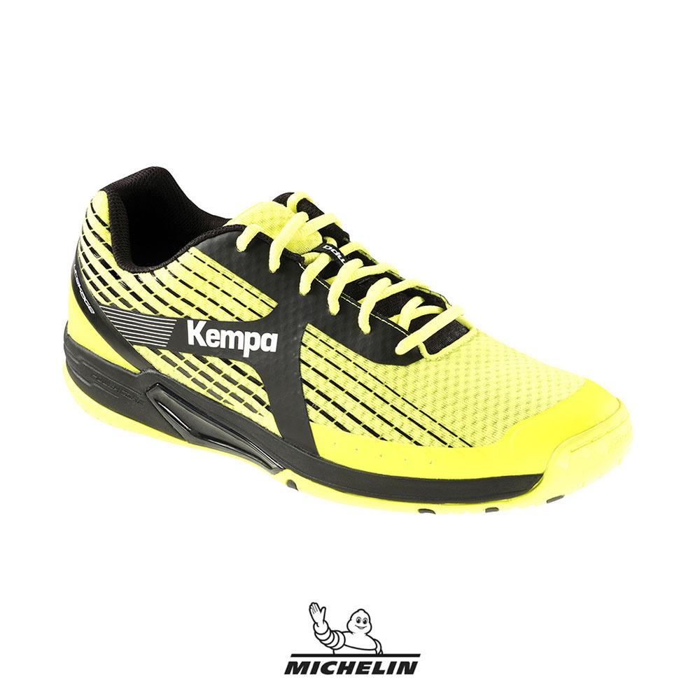 Kempa Wing Lite Caution Zapatillas de Balonmano para Hombre