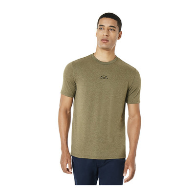 OAKLEY - BARK NEW - Tee-shirt Homme dark brush lt htr