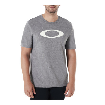 OAKLEY - O-BOLD ELLIPSE - Tee-shirt Homme athletic heather grey